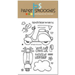 Paper Smooches - Clear Acrylic Stamps - Spiffy Scooters