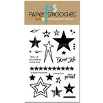 Paper Smooches - Clear Acrylic Stamps - Seeing Stars