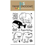 Paper Smooches - Clear Acrylic Stamps - Huge Hugs