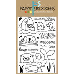 Paper Smooches - Clear Acrylic Stamps - Splash