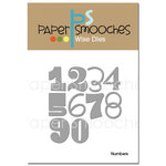 Paper Smooches - Dies - Numbers