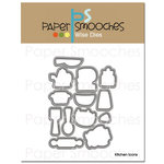 Paper Smooches - Dies - Kitchen Icons
