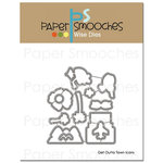 Paper Smooches - Dies - Get Outta Town Icons