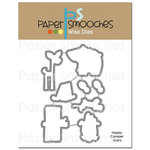 Paper Smooches - Dies - Happy Camper Icons