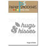 Paper Smooches Hugs and Kisses Dies