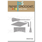 Paper Smooches - Dies - Grad Cap