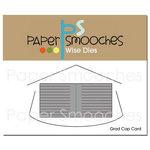 Paper Smooches - Dies - Grad Cap Card