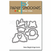 Paper Smooches - Dies - New Beginnings Icons