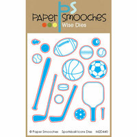 Paper Smooches - Dies - Sportsball Icons