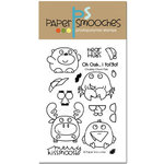 Paper Smooches - Clear Acrylic Stamps - Chubby Chums