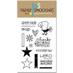 Paper Smooches - Clear Acrylic Stamps - Circle Of Honor