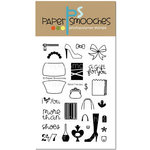 Paper Smooches - Clear Acrylic Stamps - Retail Therapy