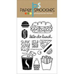 Paper Smooches - Clear Acrylic Stamps - Think Fast