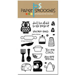 Paper Smooches - Clear Acrylic Stamps - Kitschy Kitchen
