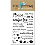Paper Smooches - Clear Acrylic Stamps - Recipe for Success