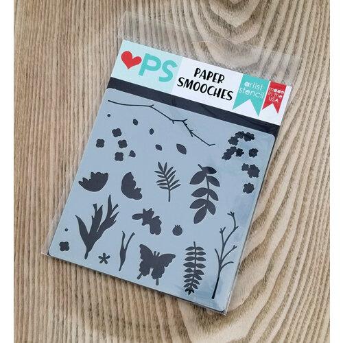Paper Smooches - Stencils - Botanical