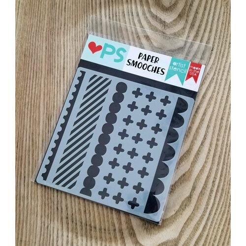 Paper Smooches - Stencils - Savvy