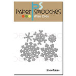 Paper Smooches - Christmas - Dies - Snowflakes