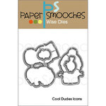 Paper Smooches - Christmas - Dies - Cool Dudes Icons