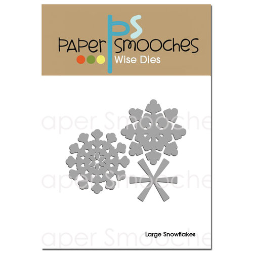 Paper Smooches - Christmas - Dies - Large Snowflakes