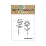 Paper Smooches - Dies - Dainty Flowers Two