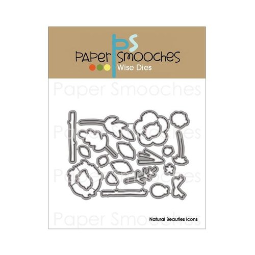 Paper Smooches - Dies - Natural Beauties Icons