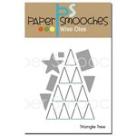 Paper Smooches - Christmas - Dies - Triangle Tree