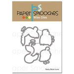 Paper Smooches - Dies - Baby Birds Icons