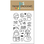 Paper Smooches - Christmas - Clear Acrylic Stamps - Freezy Fellas