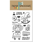 Paper Smooches - Clear Acrylic Stamps - Knick Knacks