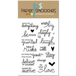 Paper Smooches - Clear Acrylic Stamps - Group Hugs