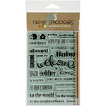 Paper Smooches - Clear Acrylic Stamps - The Welcome Wagon