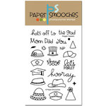 Paper Smooches - Clear Acrylic Stamps - Noggin Toppers
