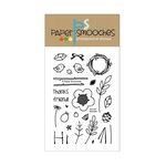 Paper Smooches - Clear Acrylic Stamps - Natural Beauties