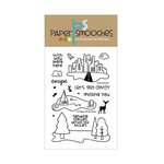 Paper Smooches - Clear Acrylic Stamps - Sweet Escape