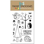 Paper Smooches - Clear Acrylic Stamps - Winter Groves
