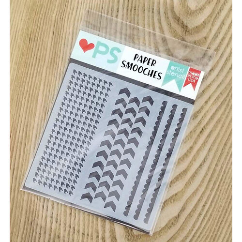 Paper Smooches - Stencils - Essential