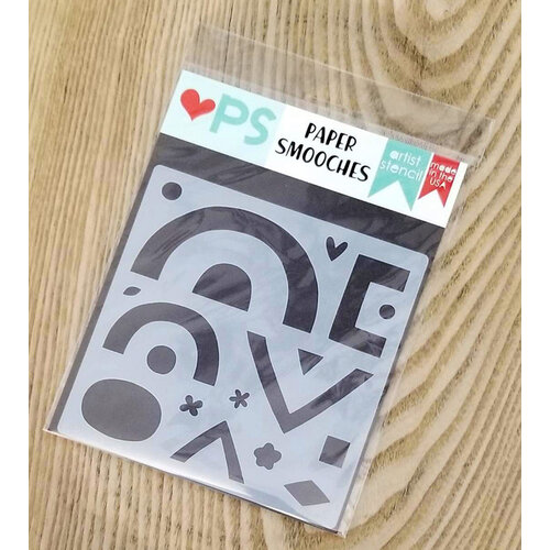 Paper Smooches - Stencils - Stackers