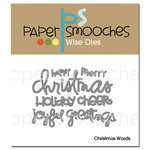 Paper Smooches - Dies - Christmas Words