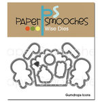 Paper Smooches - Christmas - Dies - Gumdrops Icons