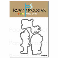 Paper Smooches - Christmas - Dies - Elf Icons