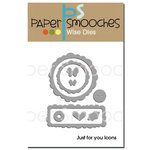 Paper Smooches - Dies - Just for You Icons