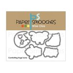 Paper Smooches - Christmas - Dies - Comforting Hugs Icons