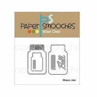 Paper Smooches - Christmas - Dies - Mason Jars
