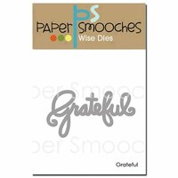 Paper Smooches - Dies - Grateful