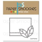 Paper Smooches - Dies - Leaf Frame