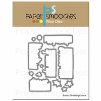 Paper Smooches - Christmas - Dies - Boxed Greetings Icons
