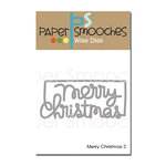 Paper Smooches - Christmas - Dies - Merry Christmas 2