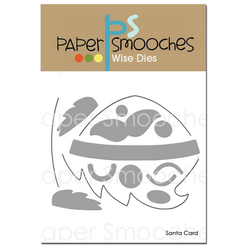 Paper Smooches - Christmas - Dies - Santa Card