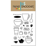 Paper Smooches - Clear Acrylic Stamps - Hot Concoctions